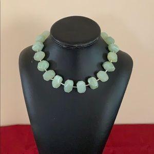 Women's jade necklace